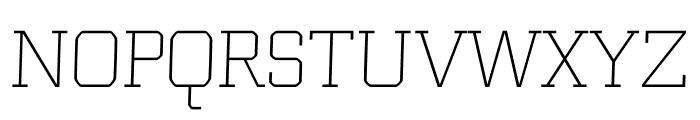 Bulk regular Font UPPERCASE