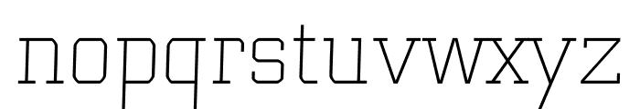 Bulk regular Font LOWERCASE