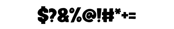 Bullate Regular Font OTHER CHARS