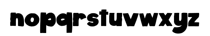 Bullate Regular Font LOWERCASE