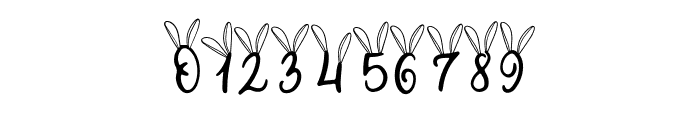 Bunny Tail Font OTHER CHARS