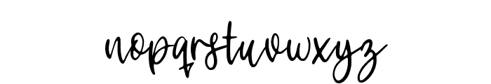 Bunny Tail Font LOWERCASE