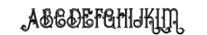 Bureno Bold Regular Font UPPERCASE