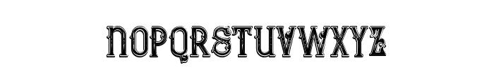 Bureno Bold Regular Font LOWERCASE