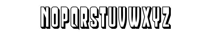 Businessman Light Regular Font UPPERCASE