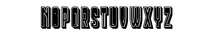 Businessman Regular Font UPPERCASE