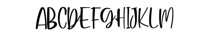 ButterCheese Font UPPERCASE