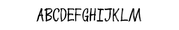 ButterscotchAllCap Font UPPERCASE