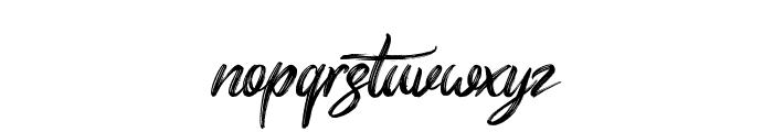 Butterscotch Font LOWERCASE