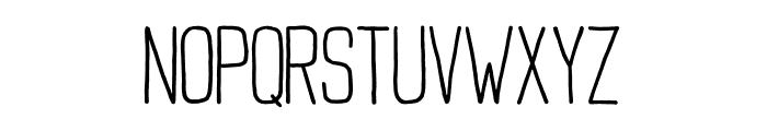 Buxton Font UPPERCASE