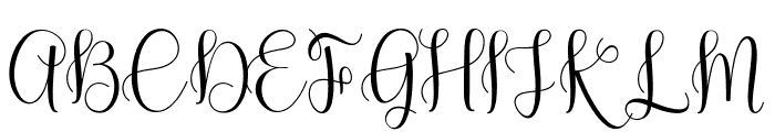 Byron Bay Font UPPERCASE
