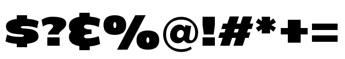 C800 Extended Regular Font OTHER CHARS