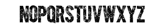 CARIBOLD ROUGH Font UPPERCASE