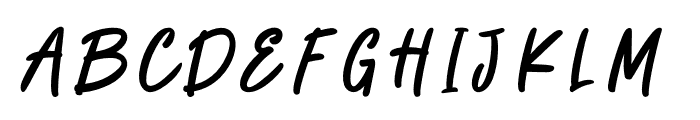 CATCHY THINGS Font LOWERCASE