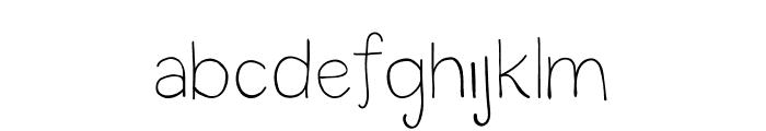 CG Ambrosial Font Regular Font LOWERCASE