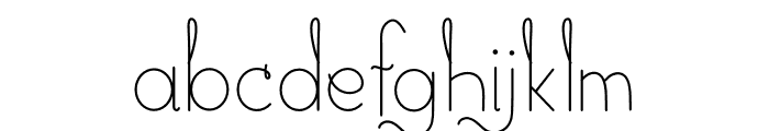 CG Golden Font Regular Font LOWERCASE
