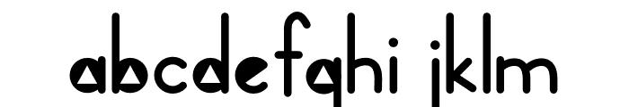 CG Triangle Font Regular Font LOWERCASE