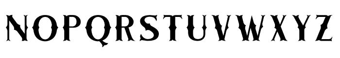 CHESTER basic Font UPPERCASE