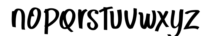 CHUNKEY Font LOWERCASE