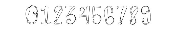 CLN-BaseballMono Font OTHER CHARS