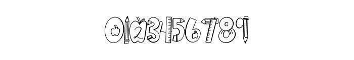 CLN-Homework Font OTHER CHARS