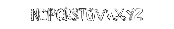 CLN-Homework Font UPPERCASE