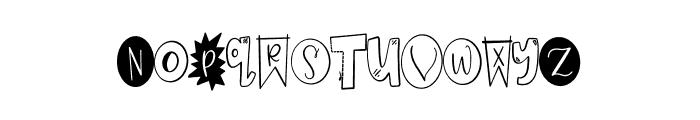 CLN-Homework Font LOWERCASE
