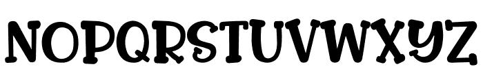 CLOSER Font UPPERCASE