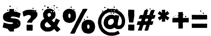 COOLEST Regular Font OTHER CHARS