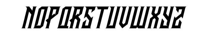 CRAWLER Italic Font UPPERCASE