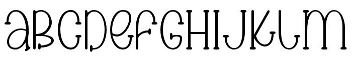 Cake cream02 Regular Font LOWERCASE