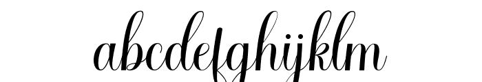 CaldwellScript-BoldItalic Font LOWERCASE