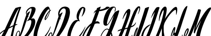 California Valley Font UPPERCASE