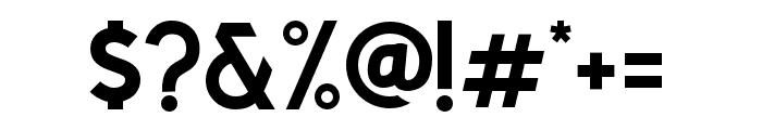 CaligorSansClean Font OTHER CHARS