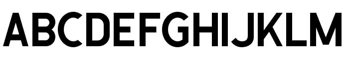 CaligorSansClean Font LOWERCASE