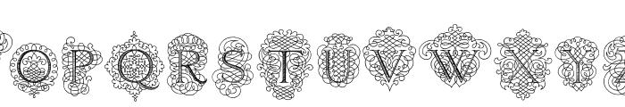 CalligraphiaLatinaSoft Font UPPERCASE