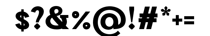 CalmiusSans-BoldLow Font OTHER CHARS