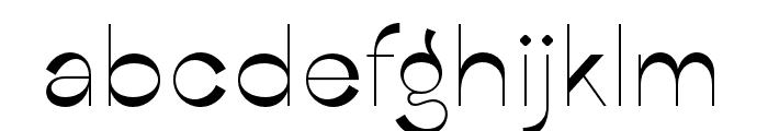CalmiusSans-ExtraLightOppo Font LOWERCASE