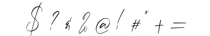 Calvin Fallen Font OTHER CHARS
