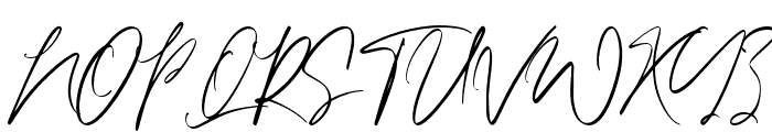 Calvin Fallen Font UPPERCASE