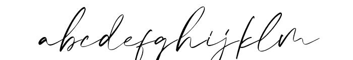 Calvin Fallen Font LOWERCASE