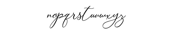 Camomile Regular Font LOWERCASE