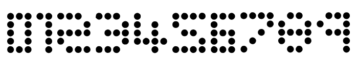 Campaign Dots Font OTHER CHARS