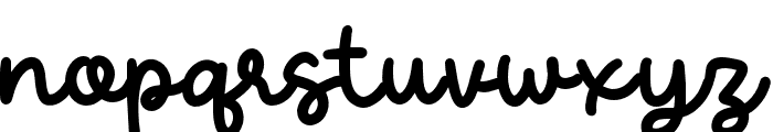 CandelaRegular Font LOWERCASE