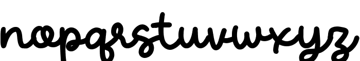 Candela Font LOWERCASE