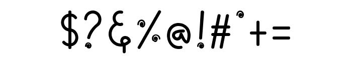 CandyAi-Regular Font OTHER CHARS