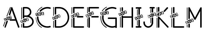 CandyAi-Regular Font UPPERCASE