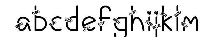 CandyAi-Regular Font LOWERCASE
