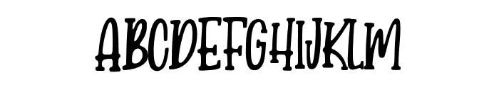 CandyClause Font UPPERCASE