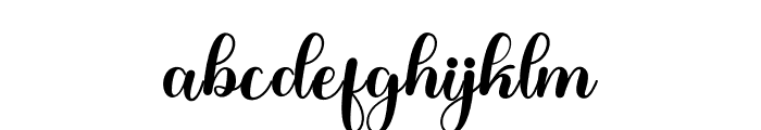 CandyHollyn Font LOWERCASE